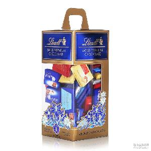 情人节礼物婚庆lind喜糖t瑞士莲瑞士精选巧克力分享装500g缤纷小