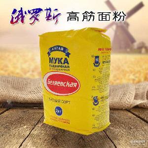 高筋面粉面包粉饺子粉烘培原料食品批发劲道水饺甜点油饼馒头批发