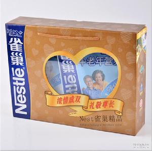 400g雀巢立袋中老年营养奶粉礼盒 端午节孝敬老人佳品
