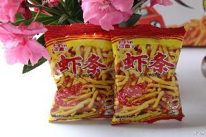 独立小包装 三惠食品膨化休闲食品散成虾条