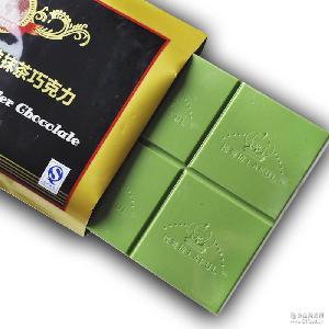 烘焙巧克力原料块进口抹茶黑巧克力DIY代可可脂原料巧克力1000g
