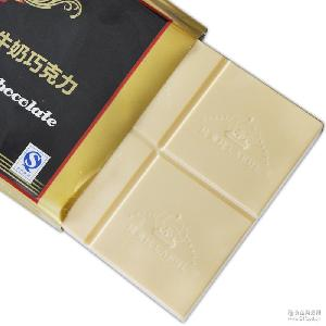 烘焙巧克力原料块进口白牛奶巧克力DIY代可可脂原料巧克力1000g