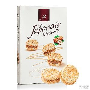 盒装*12 爱芙泰格tago坚果奶油饼干50g 欧洲进口 进口饼干零食