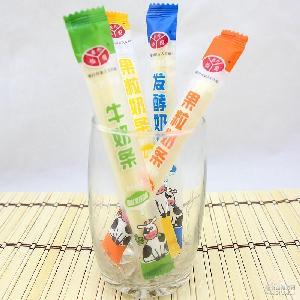蒙古牛奶 休闲零食 果粒奶酪 内蒙特产奶食品 发酵 10g独立奶条