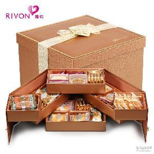 台湾礼盒宏亚凯丝霓饼干礼盒喜饼礼盒节日结婚庆礼盒生日回礼物