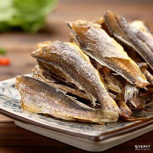 休闲零食小黄鱼118g包装野生烤香鱼干即食批发 宁波特产海鲜干货