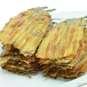 海鲜零食 山东特产 烤鱼片干 健康无添加 现烤马步鱼/针鱼