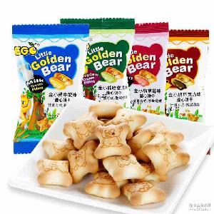 ego小熊饼干 EGO金小熊灌心饼3kg 马来西亚进口饼干 散装进口零食