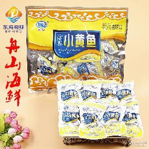 舟山海鲜特产东海香酥小黄鱼零食即食黄花鱼干货小吃250g独立包装