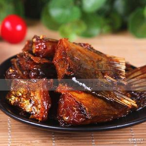 香辣鱼尾湖南特产小吃即食麻辣鱼肉小零食休闲食品