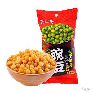 炒货食品 休闲食品 来一口豌豆 70g 酥香脆爽
