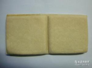出口/内销豆制品——白豆腐干