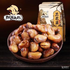 飘零大叔牛汁兰花豆200g蚕豆香酥怪味豆下酒聚会休闲小吃坚果零食