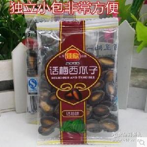 新疆特产 散装小包装10斤/件坚果炒货零食批发 佳欣话梅味西瓜子