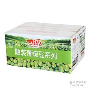 甘源牌青豆原味蒜香5斤独立包装坚果炒货休闲零食