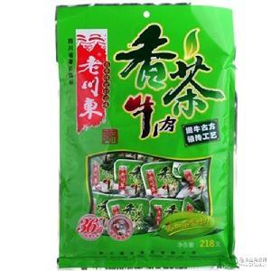 四川特产老川东香茶卤汁牛肉干158g装 特色休闲食品零食小吃
