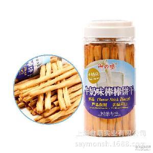 170g 牛奶羊奶抹茶味 台湾御之味 手指饼干 整箱20盒 棒棒饼干