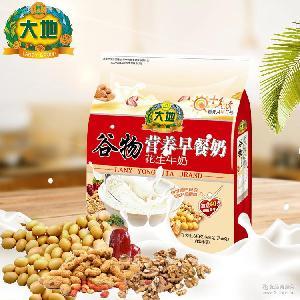 大地谷物营养早餐豆奶粉640g花生牛奶速溶代餐冲饮学生老人豆浆粉