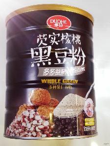 多种谷物果仁配方特价批发 厂价直销多合牌芡实核桃黑豆粉