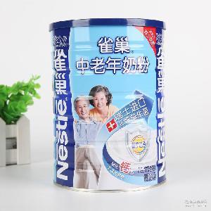 正品现货供应雀巢中老年奶粉益护因子配方850g听装奶粉 特价批发