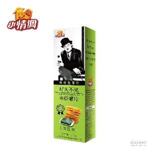 零食膨化食品 100g/盒海苔味薯片休闲 厂家直销小情调非油炸薯片