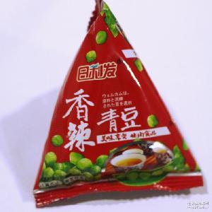 坚果炒货豆类 零食休闲小吃批发 香辣味美国青豌豆三角包散装