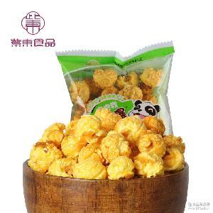 独立袋装 永明非常爆美式爆米花 整箱 焦糖味 手抓包 膨化零食