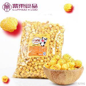 焦糖美式球形爆米花永明黄金豆休闲膨化食品90后零食小吃1.25kg装