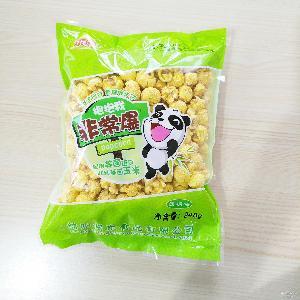 焦糖美式球形爆米花永明黄金豆休闲膨化食品怀旧零食小吃248g一袋