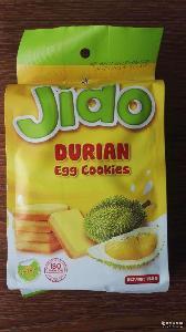 JIDO面包干 榴莲味面包干 160g*32袋