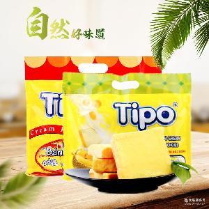 越南进口Tipo面包干牛奶鸡蛋面包片营养早餐饼干进口零食饼干袋装