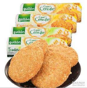 西班牙进口饼干 谷优高纤维燕麦饼干玉米口味265g/经典口味280g