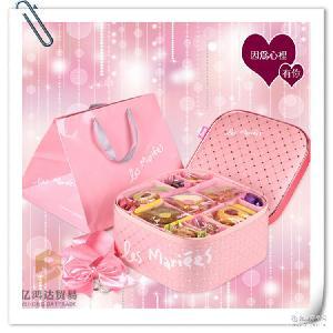 现货台湾原装进口宏亚礼坊时尚玛蕾饼干礼盒 饼干糖果年货礼盒