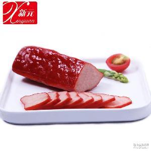 新元红培根通脊户外熟食野营熟菜卤味方便速食旅行食品5公斤/箱