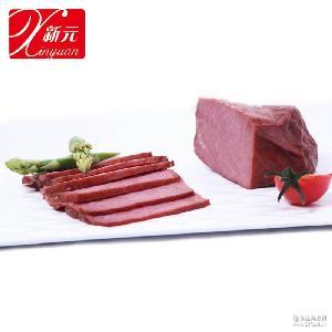 新元香卤牛肉户外熟食野营熟菜卤味方便携菜速食旅行食品5千克/箱