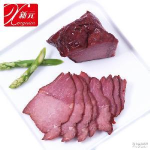 新元五香牛肉户外熟食野营熟菜卤味方便携菜速食旅行食品5千克/箱