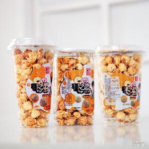 批发美国球型爆米花影城KTV酒吧奶茶休闲吧休闲食品膨化零食60g