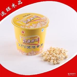 运旺米品 130g膨化奶油爆米花 专用爆米花加工