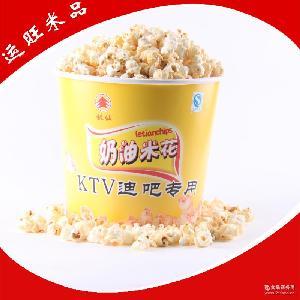 膨化零食奶油爆米花 桶装奶油爆米花 长期供应