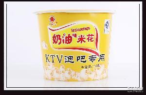 130g膨化奶油爆米花 夜场ktv专用爆米花 厂家直销