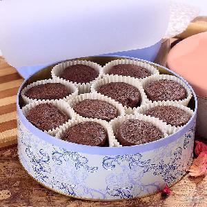 无添加手工饼干休闲零食批发代销 登京巧克力曲奇饼干铁礼盒装
