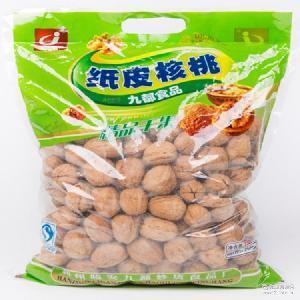 椒盐奶香5斤装 薄壳新疆熟核桃坚果零食 九都纸皮核桃