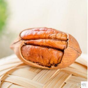 坚果零食特产 碧根果5000g 干果炒货奶油味长寿果 美国山核桃
