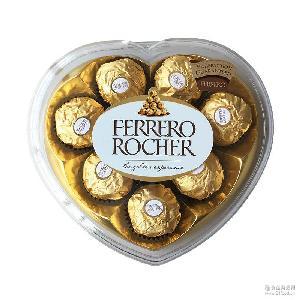 榛果巧克力8粒装 进口婚庆喜糖休闲零食批发 意大利费列罗巧克力