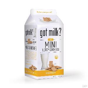 美国got milk?高麦可迷你蜂蜜小熊饼干440g