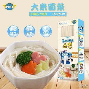 变形警车珀利婴儿面条宝宝营养大米面300g儿童辅食 韩国进口POLI