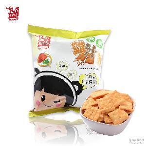 台湾休闲零食 香葱鸡汁饼干-70公克超市*零食批发价