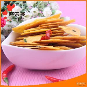 厂家批发长期供应 即食健康粗粮玉米片 天然五谷营业玉米片饼干
