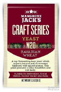 10g Jack&,39 s巴伐利亚小麦啤酒酵母M20小包啤酒酵母 Mangrove