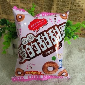 喜事回礼 非油炸特价20克 的甜甜圈膨化食品休闲零食 金喜雀爱